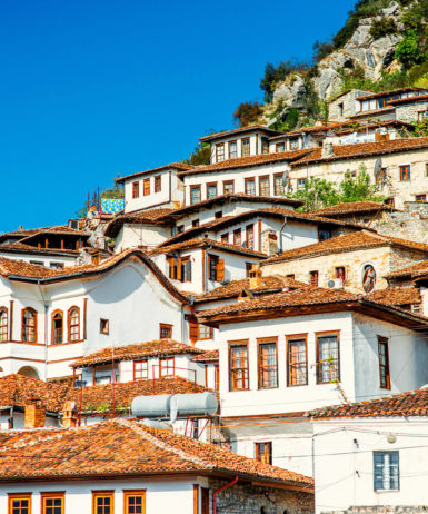 berat city unesco albania