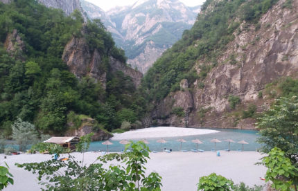 shala river and koman lake